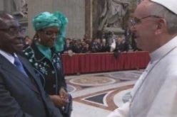 Zimbabwe's President Mugabe Meets Pope