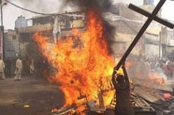 Muslim mob burns Christian village over 'blasphemy'