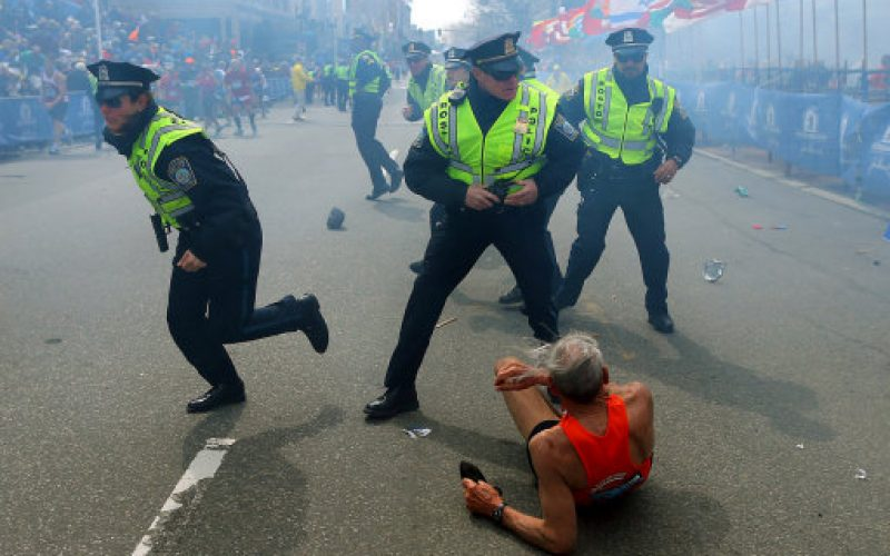 Prayers after Boston Marathon explosions