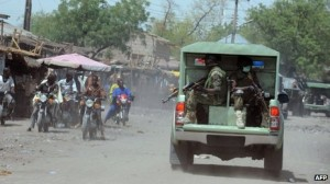 Troops are already present in large numbers in Nigeria's north-east