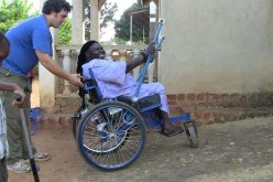 Off-road wheelchair offers freedom for disabled poor