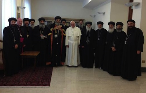 Pope_Francis_with_Pope_Tawadros_at_Casa_Santa_Marta_on_May_9_2013_Credit_Copticworldorg