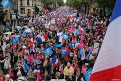 Thousands in France Protest New Gay Marriage Law