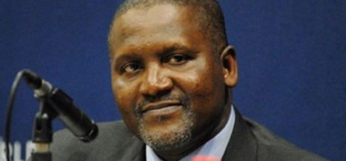 Nigeria's Dangote in World's Top 25 Richest
