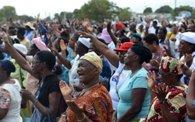 Jamaican Churchgoers Hold Anti-Sodomy Revival Meeting