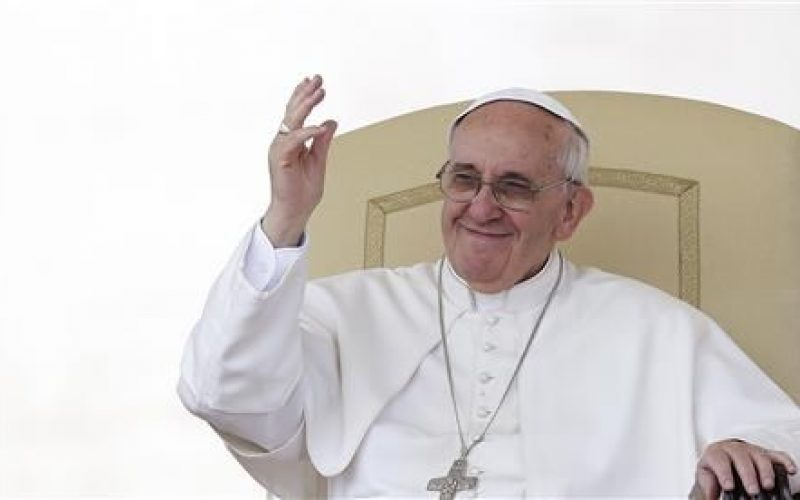 Pope wades diplomatically into gay marriage debate