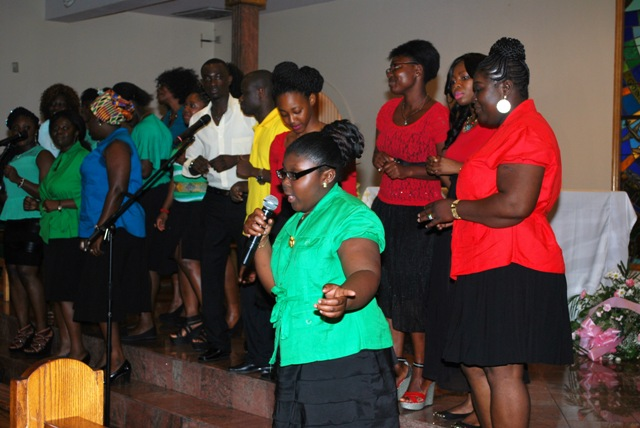 Gifty Boanoh sings at Gospel Rock Show