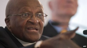 Archbishop Desmond Tutu compared homophobia to racism