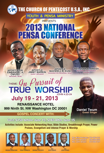 2013 Pensa National Conference The Christian Journal