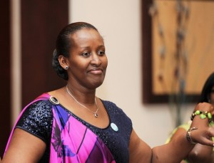 The First Lady, Jeannette Kagame