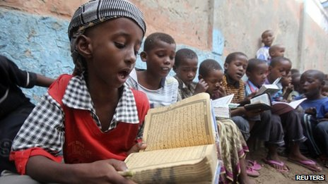 Only four out of 10 Somali children attend schools