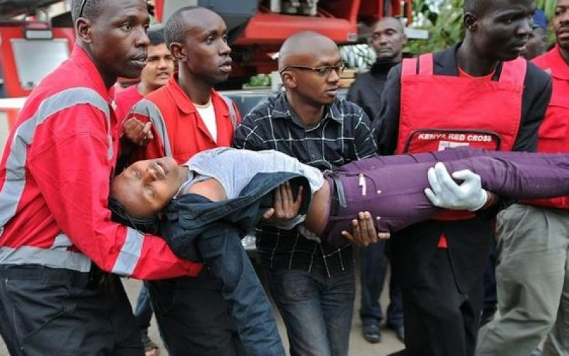 Nairobi attack: Hostages remain inside shopping centre