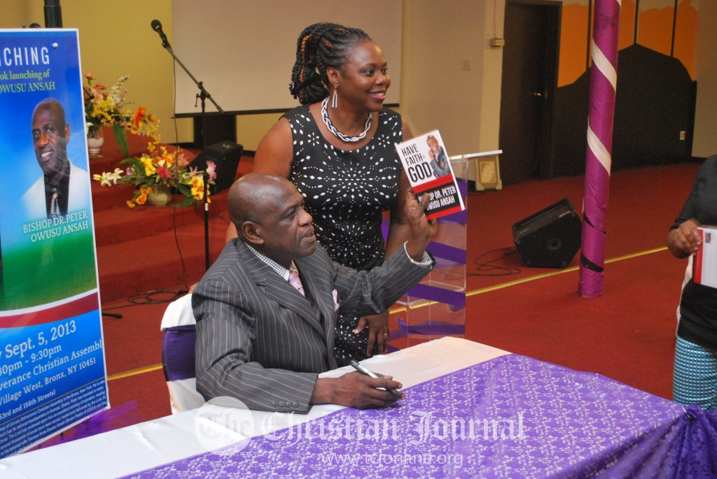 Bishop Owusu Ansah Book Launching