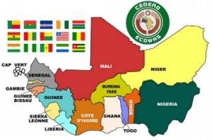 Ecowas-map