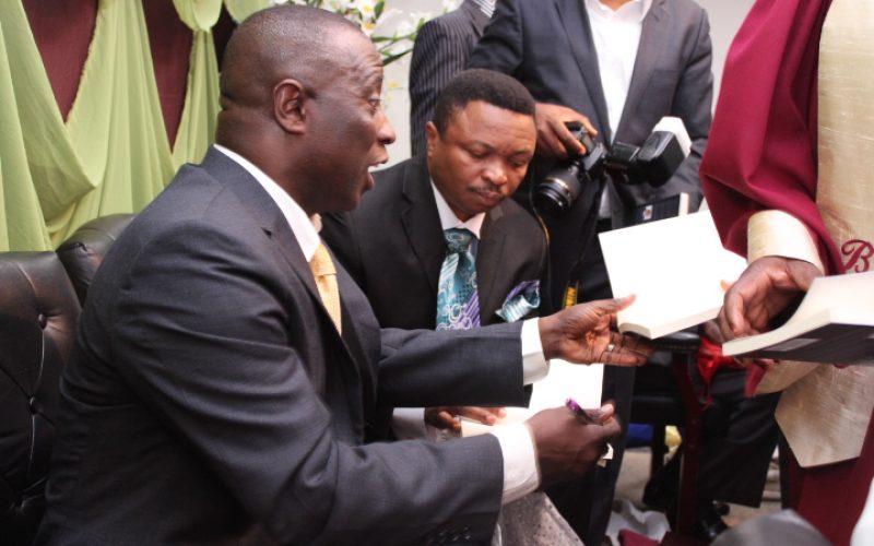 Book launch marks Rev. Alexander Adu Gyamfi's wonderful legacy and dream