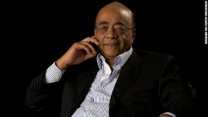 a Sudanese-born telecommunications businessman and billionaire