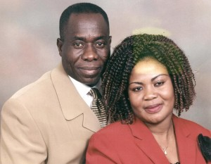 Rev. Isaac Acheampong and his wife Cecilia Acheampong
