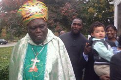 Archbishop Emeritus Peter Sarpong visits Worcester