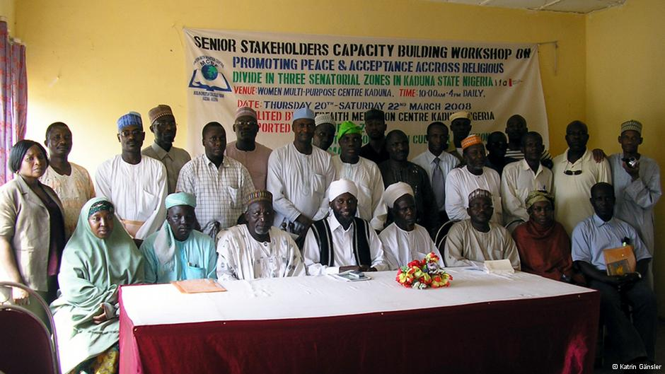 The Interfaith Mediation Center in Kaduna organizes frequent workshops