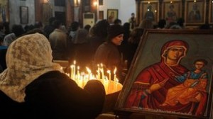 Christians make up about 10% of Syria's population but their numbers have been falling