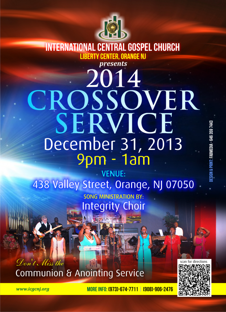 Cross Over Service The Christian Journal
