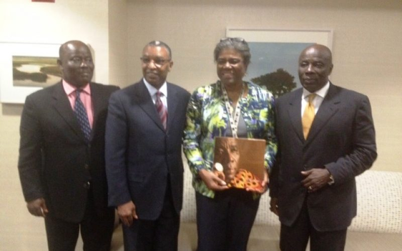 Okyenhene lobbies us Government on support for mined land reclamation