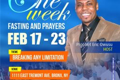 One Week Fasting and Prayers