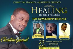 Healing in his Presence