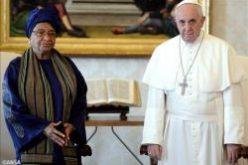 Liberia: Ellen Meets Pope Francis