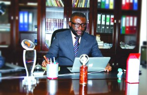 CEO of Innovative EPS Ltd, Mr George Boateng