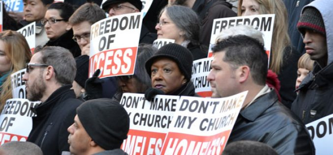 NYC Pastors Continue Fight against City's Ban on Worship Services at Schools