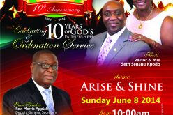 ICGC Liberty Temple 10th Anniversary
