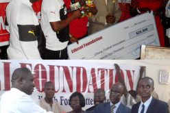 Edusei Foundation Makes Major Donations to the  Black Stars and Catholic Relief Charities