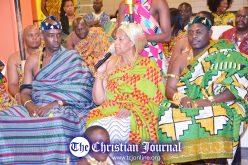 Ghanaian Bronx residents honor state Sen. Ruth Hassell-Thompson during Durbar festival