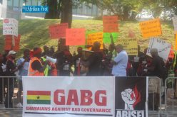 Ghanaians Against Bad Governance Protest Against Mahama Administration in Washington DC