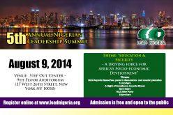 5th Annual Lead Nigerian Summit