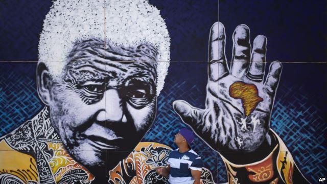 Nelson Mandel Mural