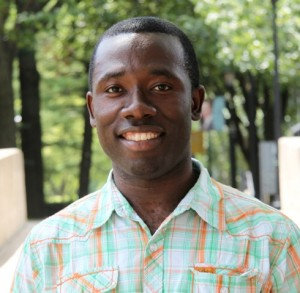 Senior Ebenezer Ewul has won the National Institutes of Health Undergraduate Scholarship for the 2015-2016 year.