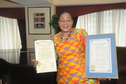 New Jersey: Ghana's First Lady Lordina Mahama honoured by City of Newark