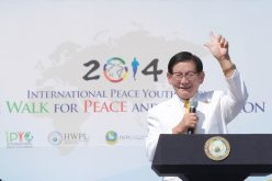 Peace Agreement Ceremony, the Highlight of the World Alliance of Religions' Peace Summit