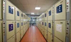 The lockers at Hamburg central station. Photo: DPA