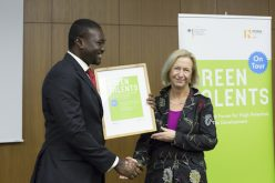 German Research Minister honours Ghanaian scientist in Berlin