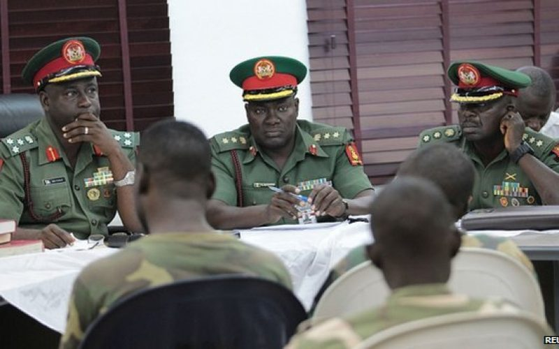 Nigeria: 54 soldiers Sentence to death for refusing to fight Boko Haram Islamist militants.