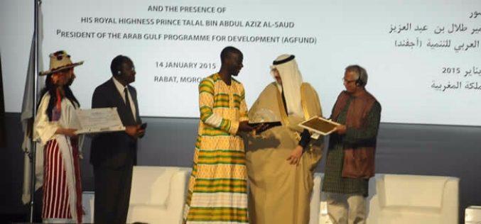 Ghanaian social entrepreneur Kwaku Kyei wins Arab Gulf Prize