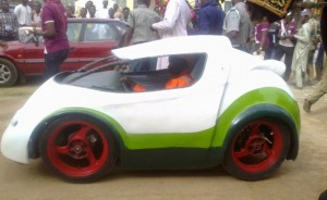 Photo: Daily Trust The Ahmadu Bello University has unveiled a car that was manufactured by the institution's Department of Mechanical Engineering.