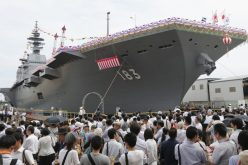 Japan unveils Izumo, its largest warship since World War II