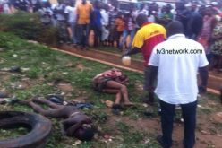 2 suspected robbers burnt to death in Kumasi