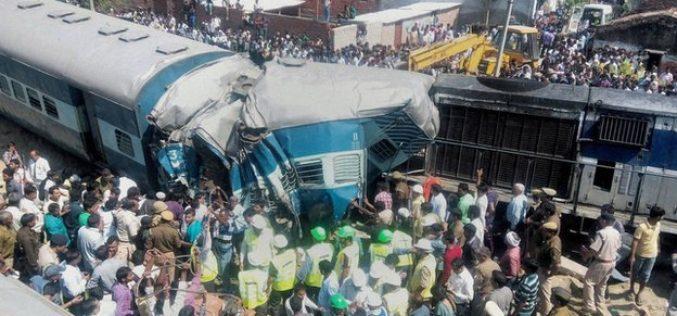 India train accident kills at least 31 in Uttar Pradesh