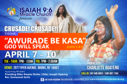 Isaiah 9:6 Miracle Church Crusade