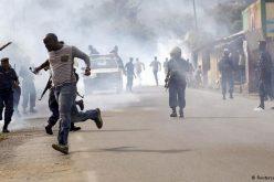 Protests in Burundi at president's renewed nomination